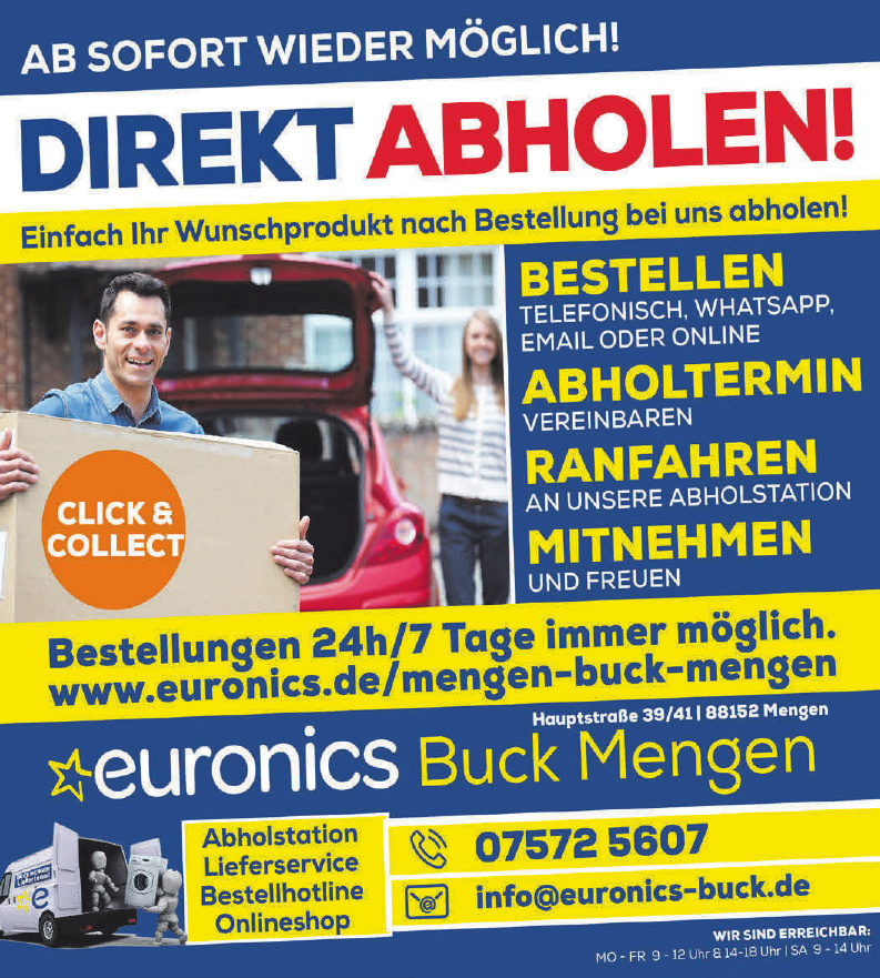Euronics Buck Mengen