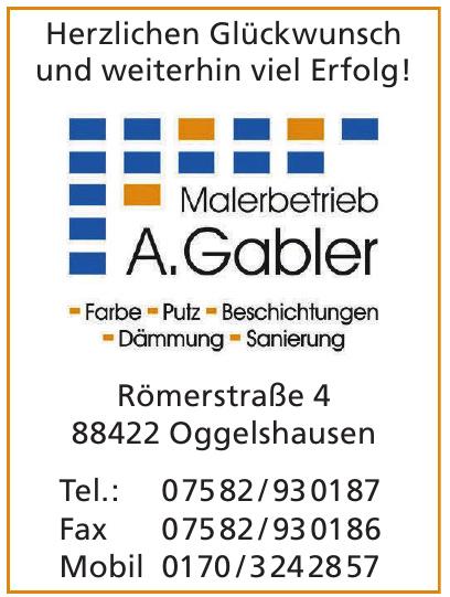 Malerbetrieb A. Gabler