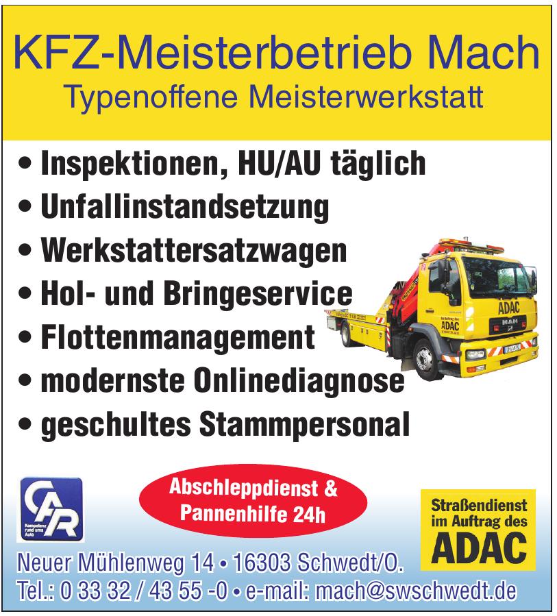 KFZ-Meisterbetrieb Mach
