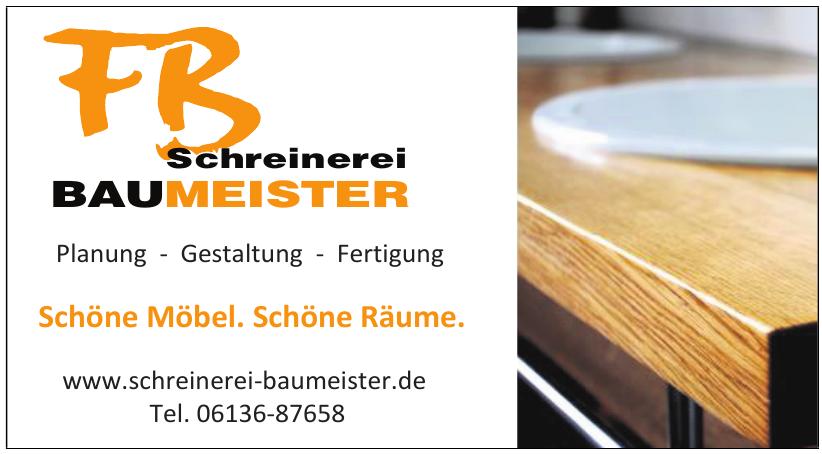 FB Schreinerei Baumeister