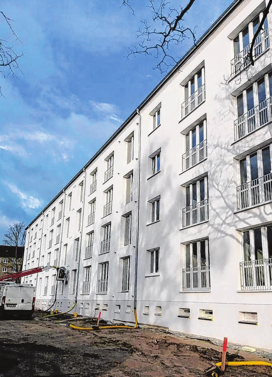 Auch an Sanierungen in der Karl-Marx-Straße in Frankfurt (Oder) war BSC beteiligt.