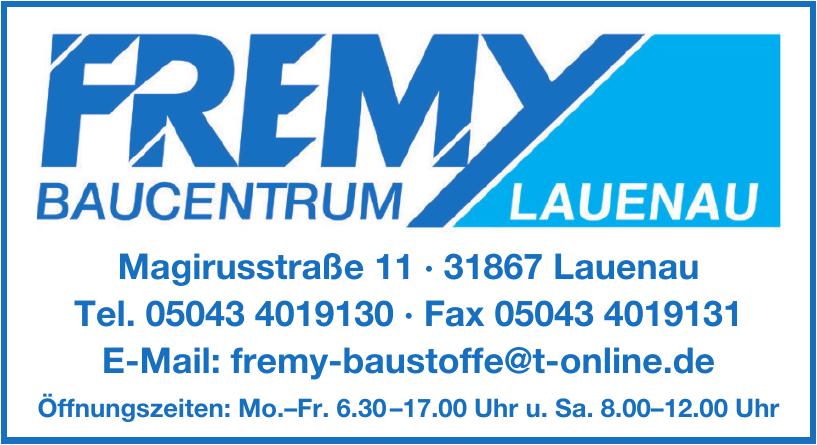 Fremy Bauventrum Lauenau