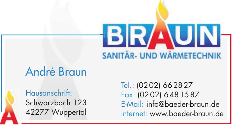 Sanitär- u. Wärmetechnik Braun