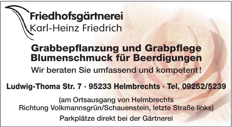 Friedhofsgärtnerei Karl-Heinz Friedrich