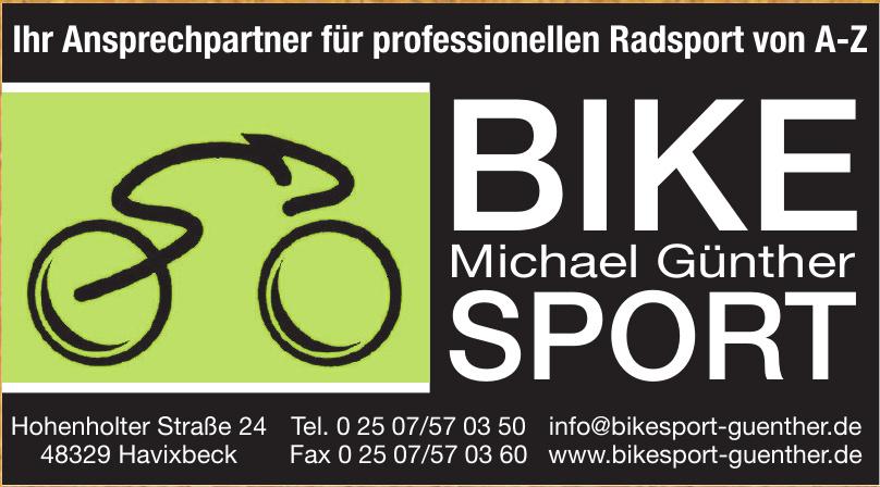 Michael Güntner Bike-Sport