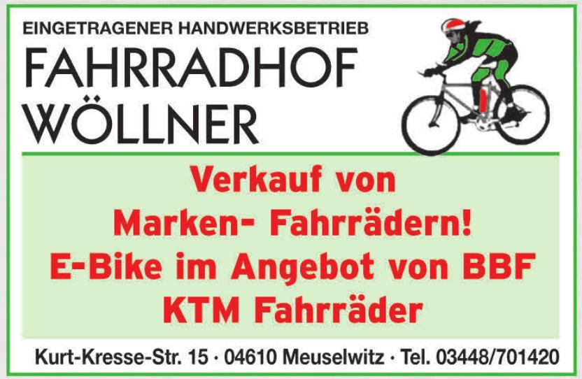 Fahrradhof Wöllner