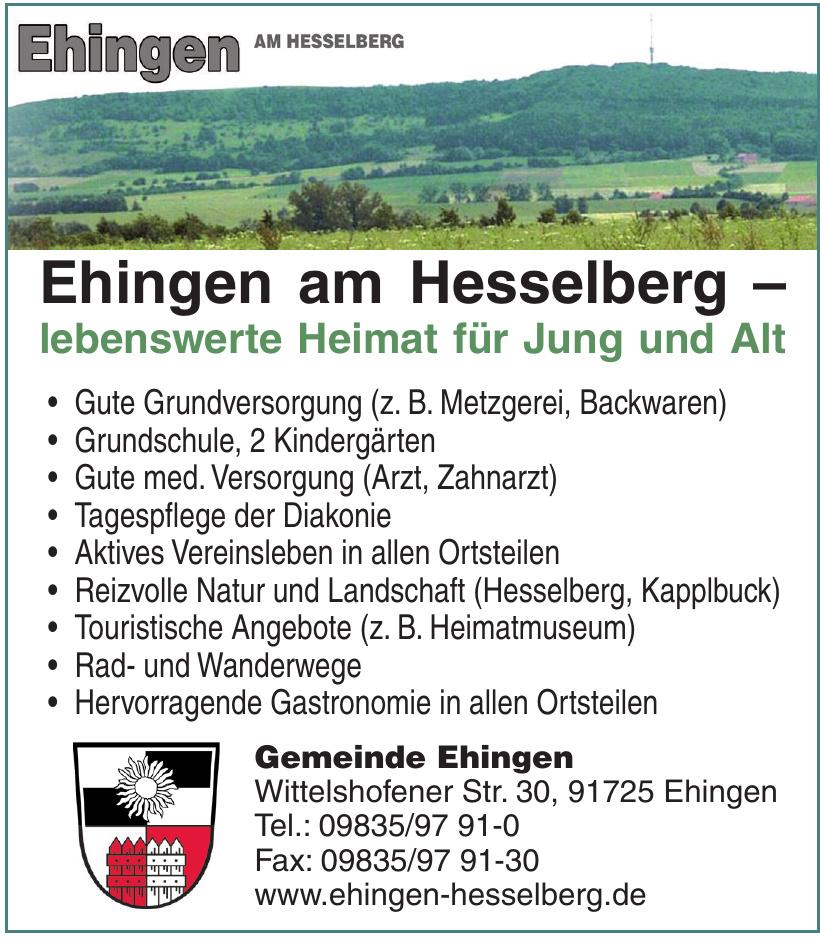 Ehingen am Hesselberg