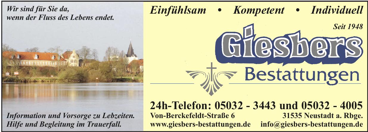 Giesbers Bestattungen