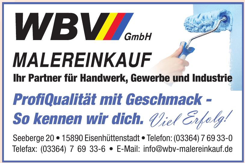 WBV GmbH Malereinkauf