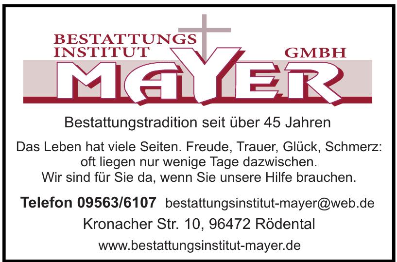 Bestattungsinstitut Mayer GmbH
