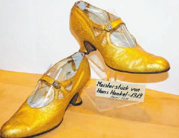 Das Meisterstück von Firmengründer Hans Henkel aus dem Jahr 1919.