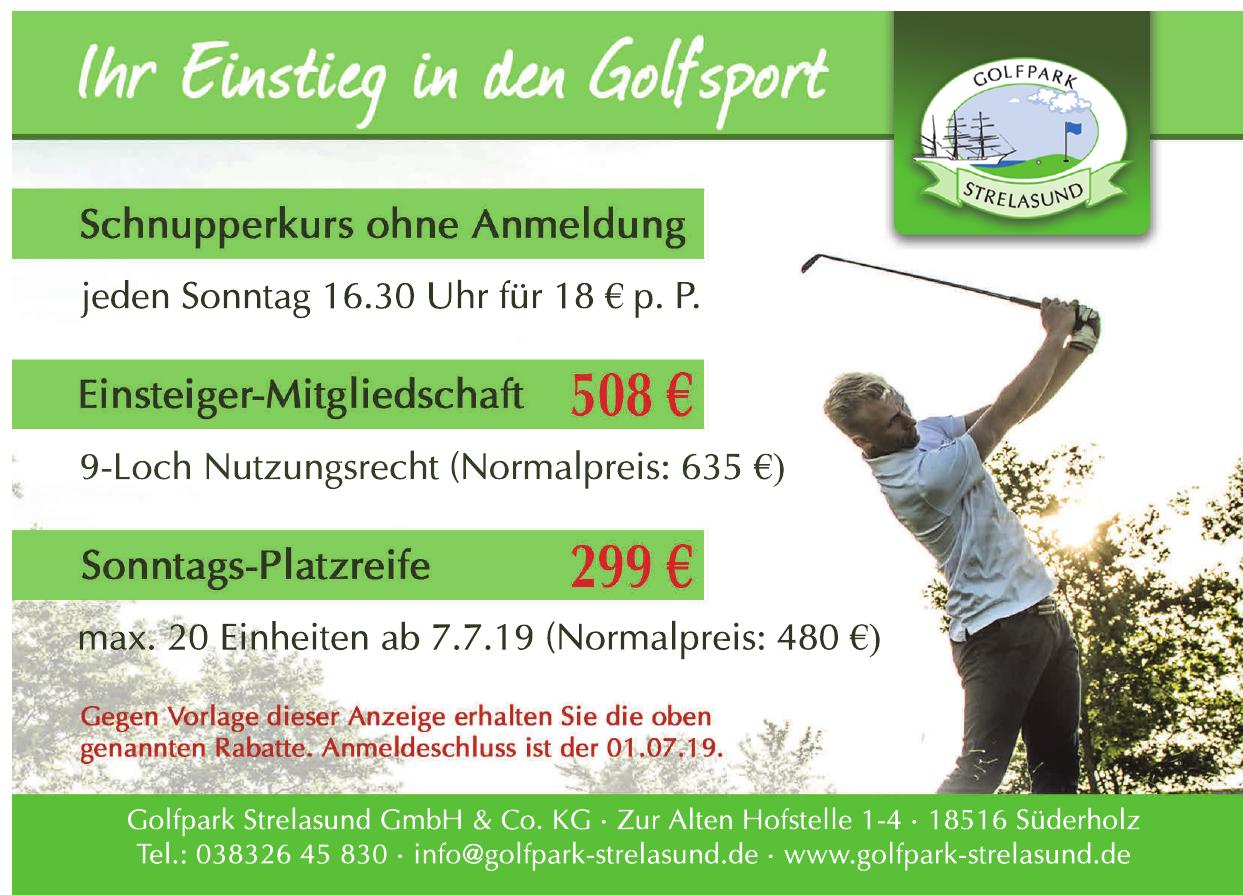 Golfpark Strelasund GmbH & Co. KG