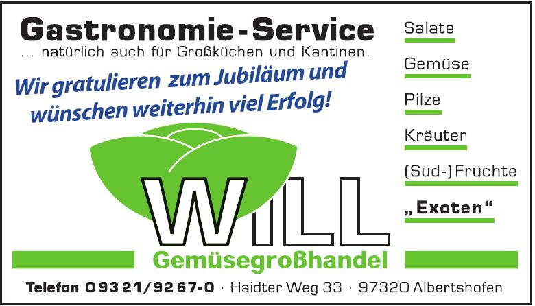 Will Gemüsegroßhandel GmbH