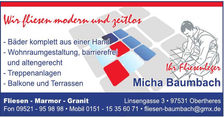 Micha Baumbach