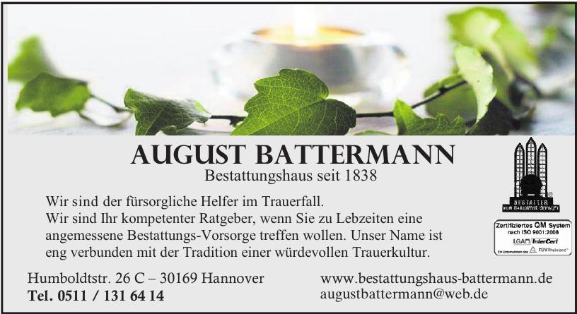 August Battermann Bestattungshaus