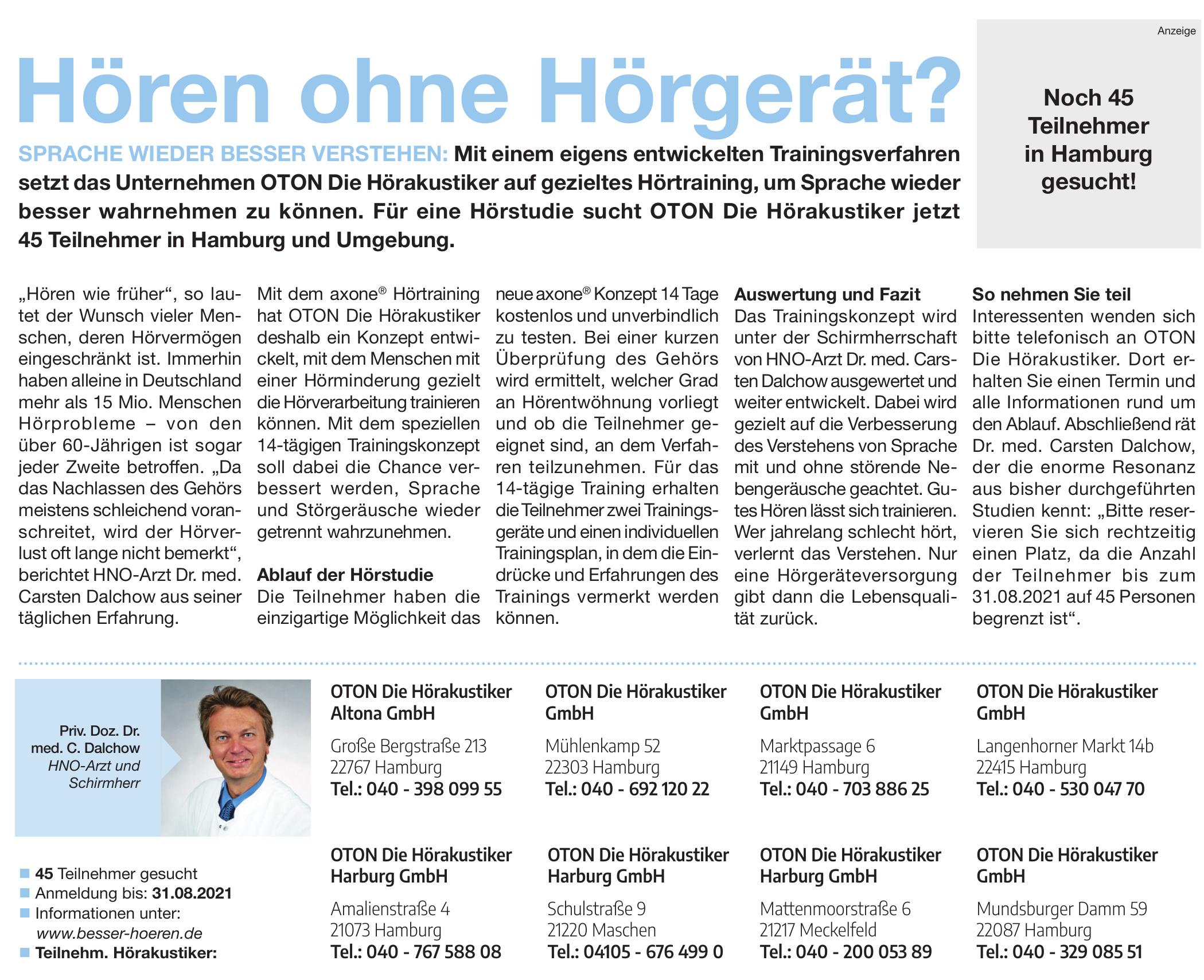 OTON Die Hörakustiker Altona GmbH