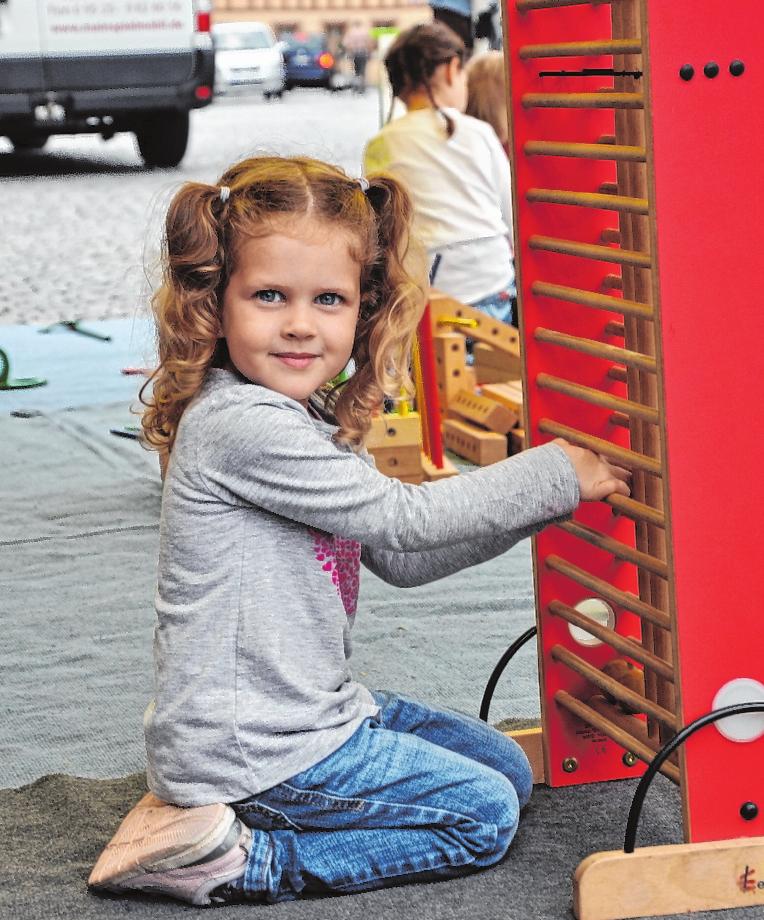 Viel Spaß verspricht der Kindertag auf der Hofheimer Kirchweih. FOTO: ALOIS WOHLFAHRT