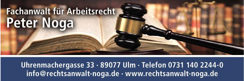 Fachanwalt für Arbeitsrecht Peter Noga