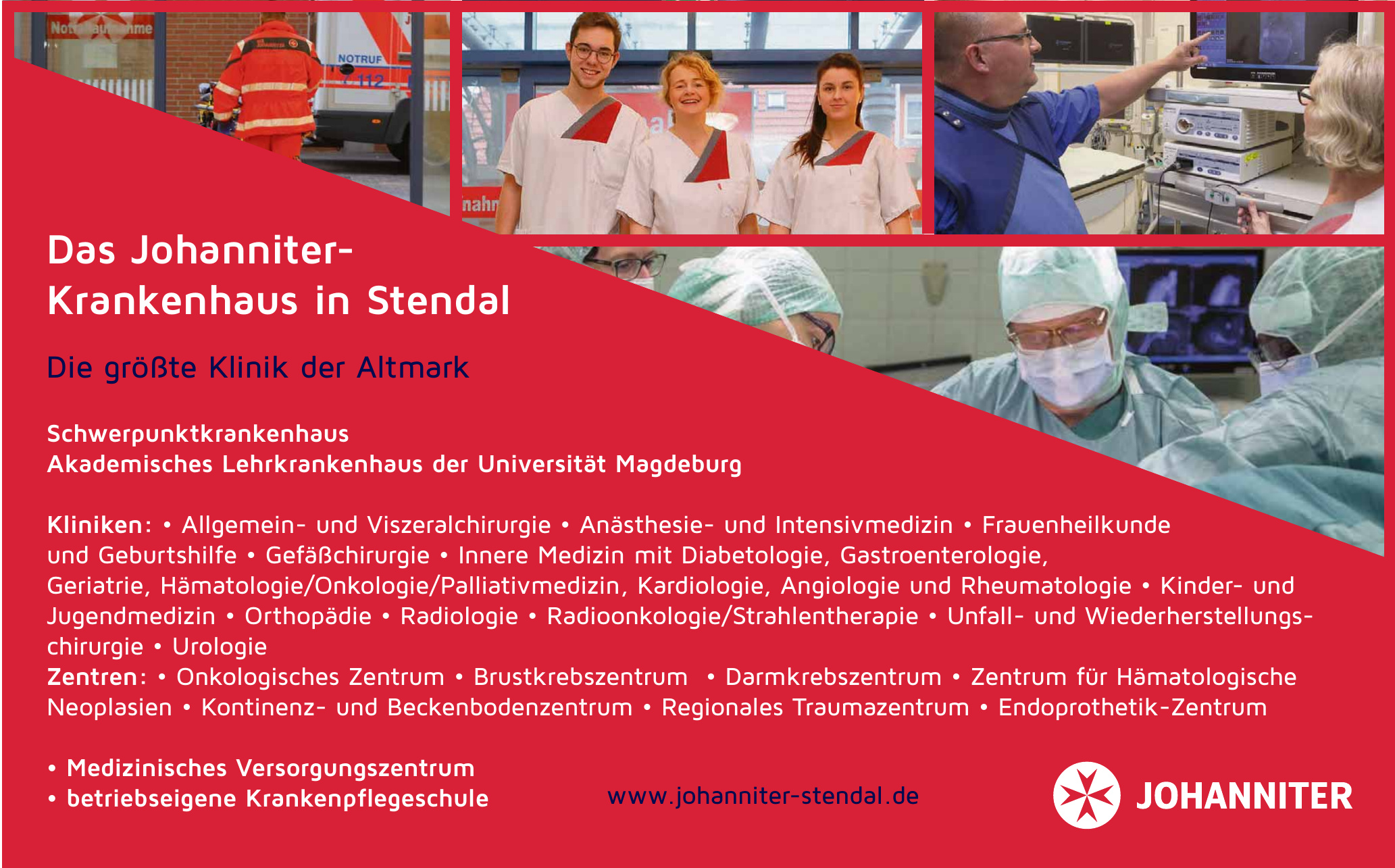 Die Johanniter - Johanniter-Krankenhaus Stendal