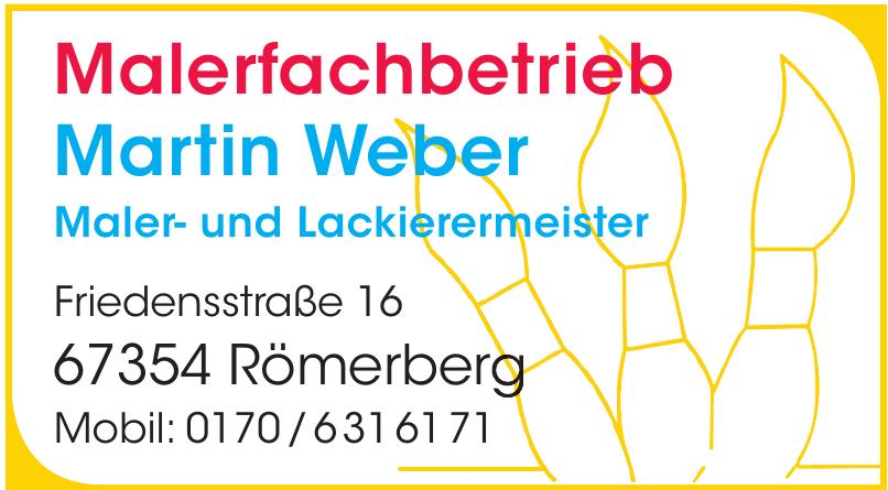 Malerfachbetrieb Martin Weber
