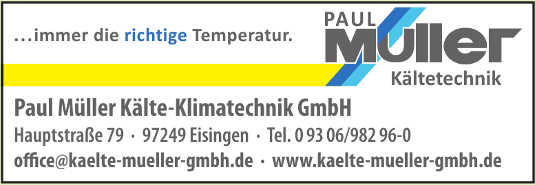 Paul Müller Kälte-Klimatechnik GmbH