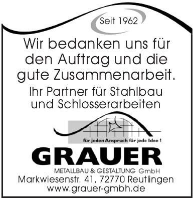 Grauer Metallbau & Gestaltung GmbH