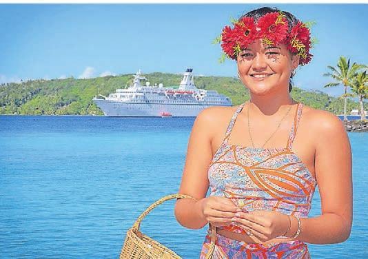 Die Weltreise mit der Astor führt in tropische Paradiese.