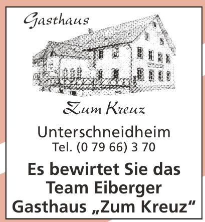 """Gasthaus """"Zum Kreuz"""""""
