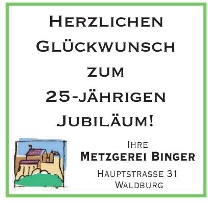 Metzgerei Binger