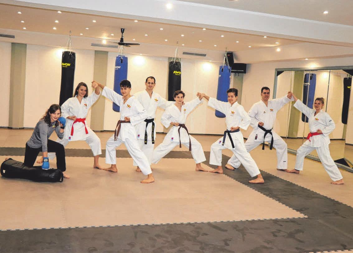 Trainer-Team. Fotos: nic