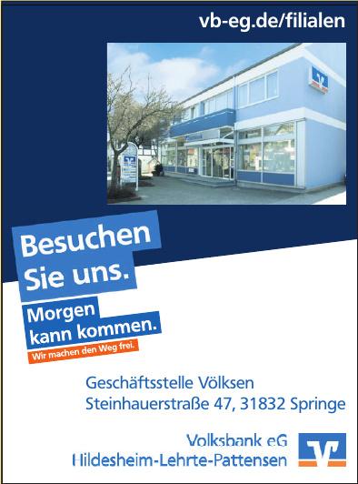 Volksbank eG - Hildesheim-Lehrte-Pattensen