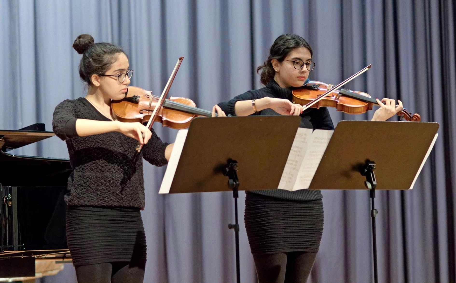 Junge Musiktalente gestalten das beliebte Schülerkonzert im Josef-Lindemann-Saal der Städtischen Musikschule Neckarsulm. Foto: Picasa