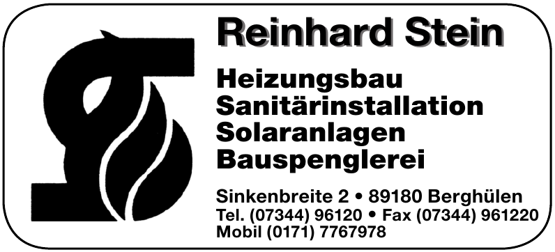 Reinhard Stein Heizungsbau
