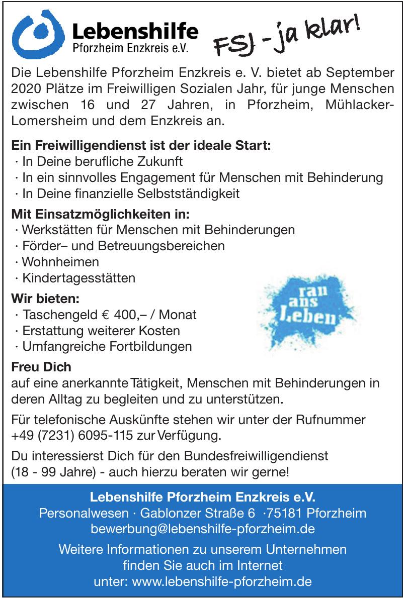 Lebenshilfe Pforzheim Enzkreis e.V.