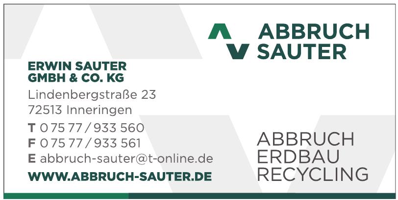 Abbruch Erwin Sauter Gmbh & Co. KG