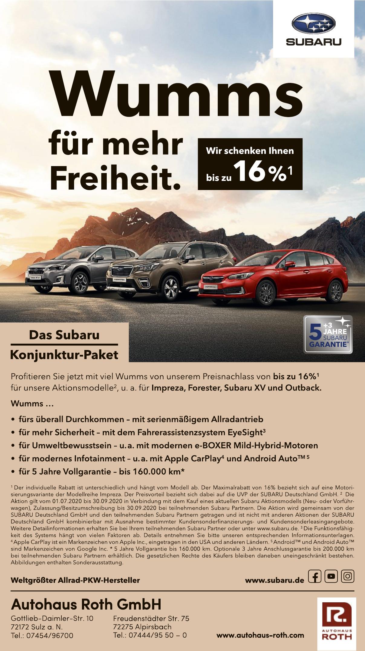 Autohaus Roth GmbH