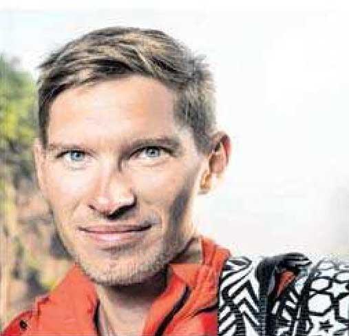 Lukas Irmler erzählt über seine Abenteuer als Slackliner.Foto: Christian Spreiz