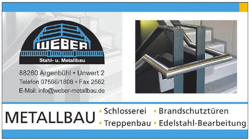 Weber Stahl- u. Metallbau