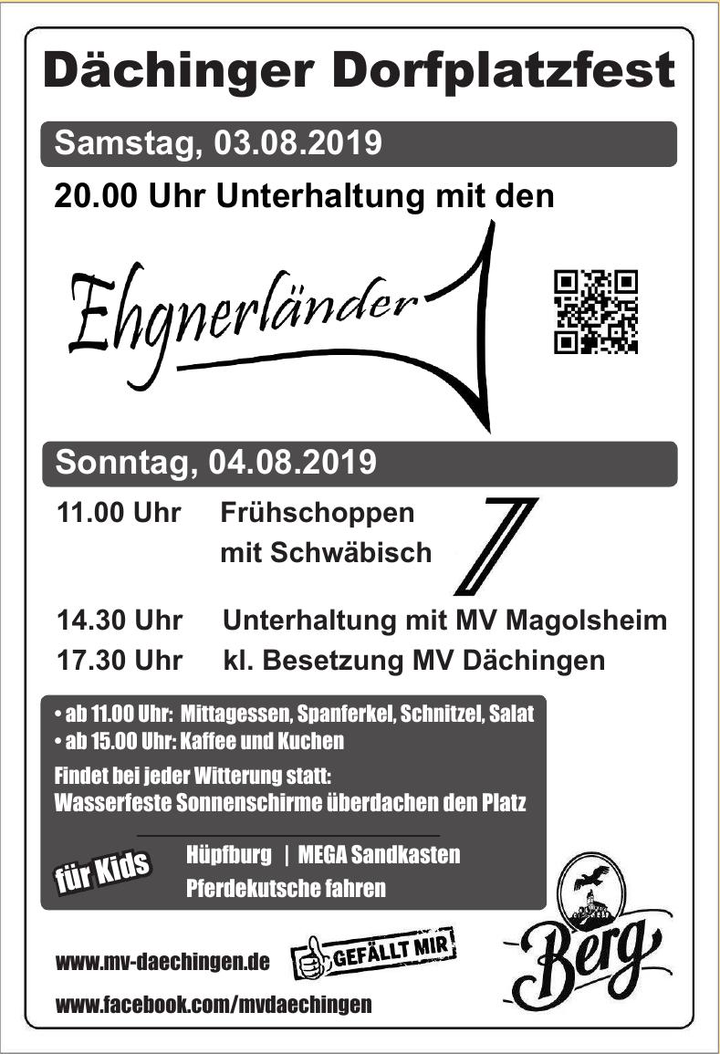 Frühlingsfest Dächingen 2019