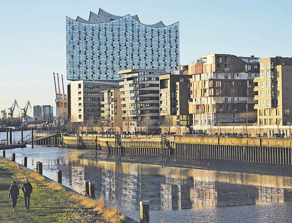 Die HafenCity zählt zu den teuersten Lagen für Immobilien in der Hansestadt Foto: Elbe + Flut/HafenCity GmbH
