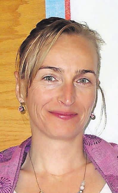 Chiropraktikerin Nicole Lütz.