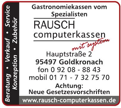 Rausch computerkassen