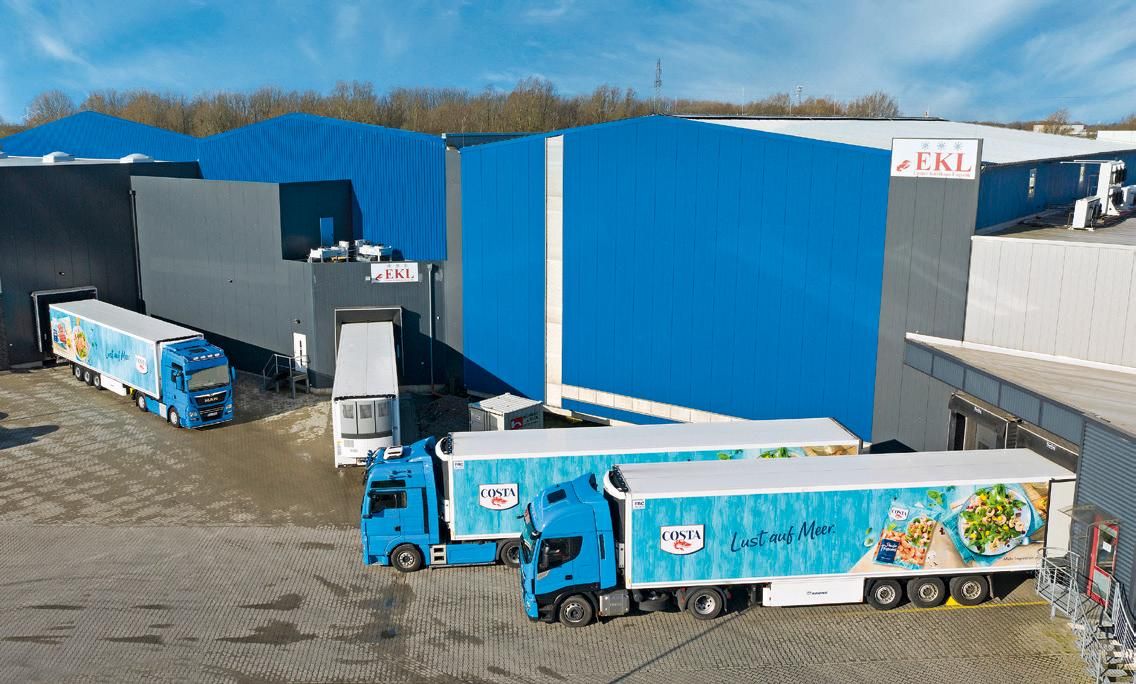Through quality and reliability, the deep-freeze shipping company has made a name for itself in the food industry and is a valued partner of the fishing industry in East Frisia.