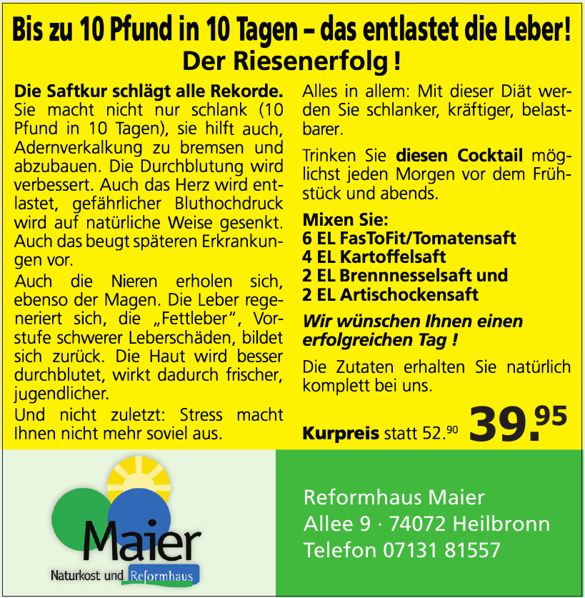 Reformhaus Maier