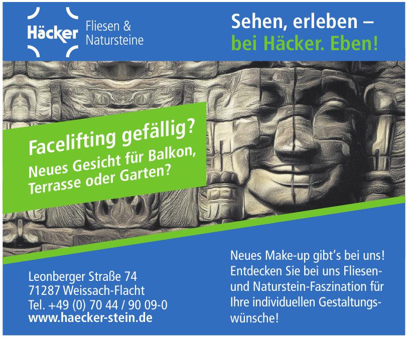 Häcker Fliesen & Natursteine