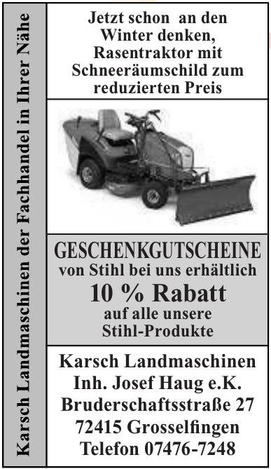 Karsch Landmaschinen Inh. Josef Haug e.K.