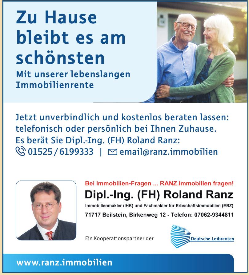 Dipl.-Ing. (FH) Roland Ranz