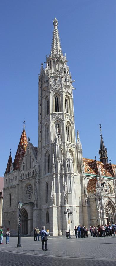 Die Matthiaskirche.