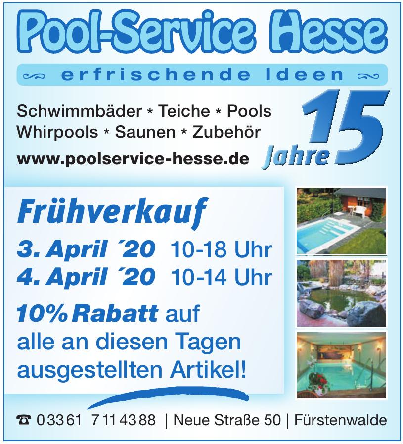 Pool-Service Hesse