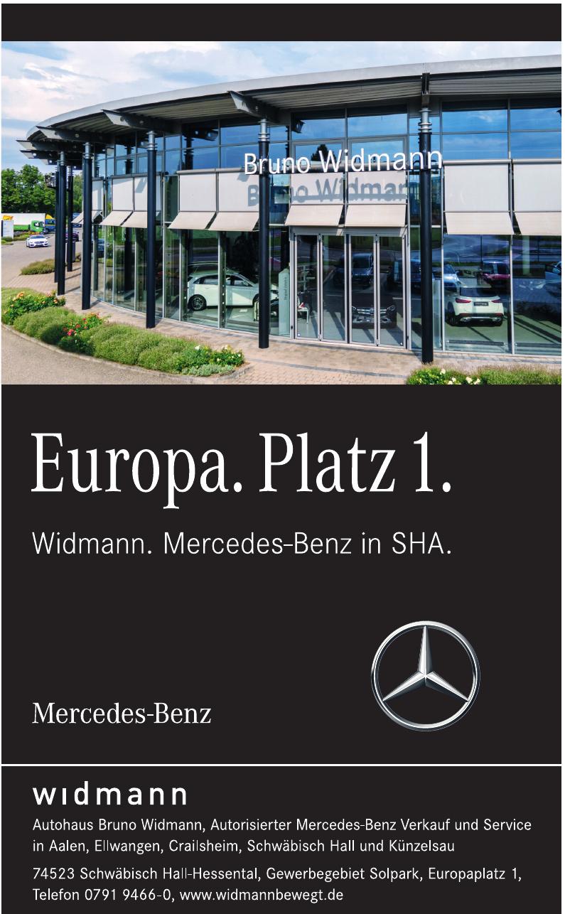 Autohaus Bruno Widmann GmbH & Co. KG